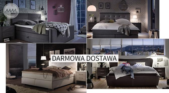 Duże łóżka do sypialni wzory