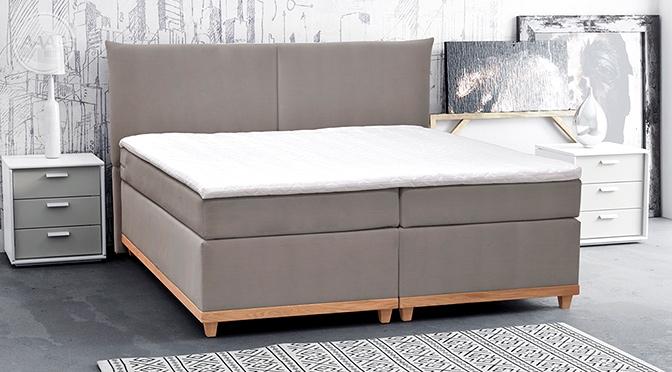 Łóżko Aneta w minimalistycznym stylu
