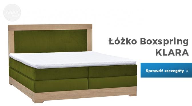 Łóżko Boxspring Klara