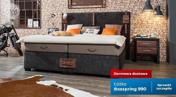 Łóżko Boxspring 99 41