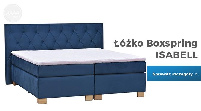 Łóżko tapicerowane Isabel